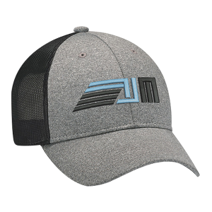 Full Fit Polyester Heather & Spandex Baseball Cap