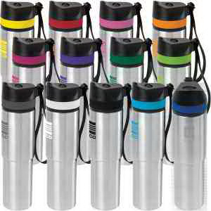 20 oz Persona® Tower Vacuum Water Bottle