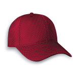 Structured Premium Cotton Twill Cap with Mesh Overlay