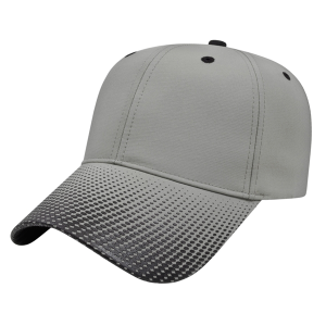 High Density Visor Print Cap