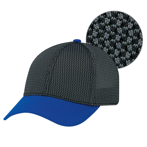 Open Mesh Fitted Baseball Cap
