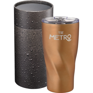 Hugo Copper Tumbler 20 oz With Cylindrical Box